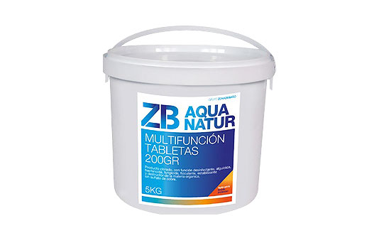 Cloro multifuncion tabletas 200g