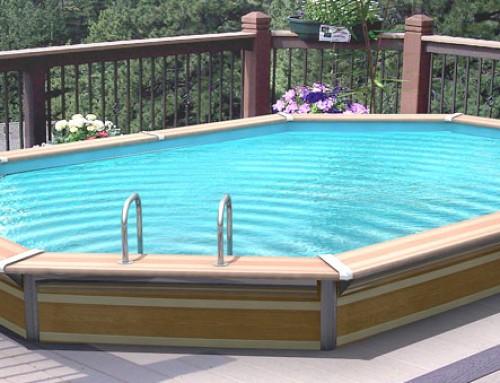 Piscinas de poliester ait piscinas y jardines - Piscinas de madera semienterradas ...
